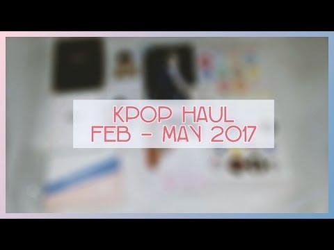 KPOP HAUL Feb-May 2017 // SEVENTEEN //
