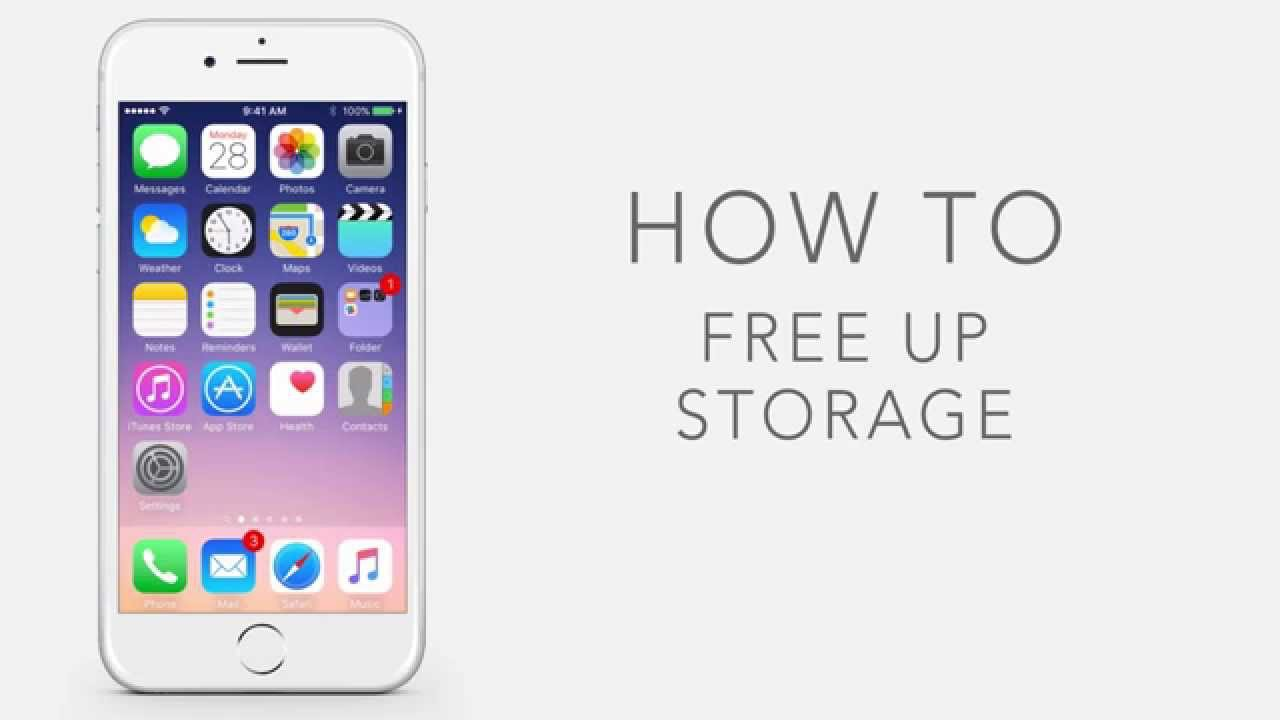 how to get more storage on iphone 5c how to free up storage on iphone how to free up more 9039