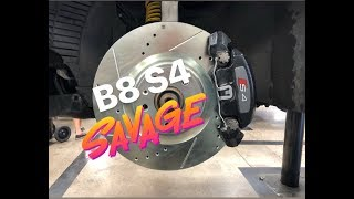 B8 S4 front brake upgrade for the B5 S4 thumbnail