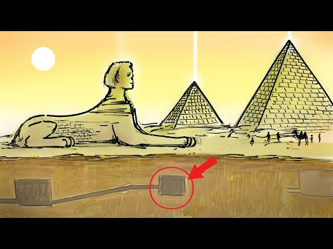 Secret Knowledge Hidden Underneath the Great Sphinx