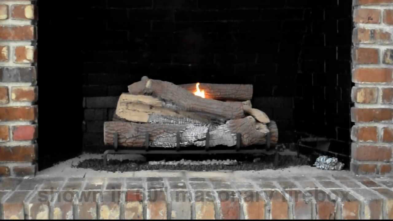 Fmi vantage hearth southern comfort 36 vent free gas logs for Vantage hearth