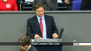 Ralph Lenkert, DIE LINKE: Umweltschutz nur dann, wenn Bürger die Kosten tragen müssen