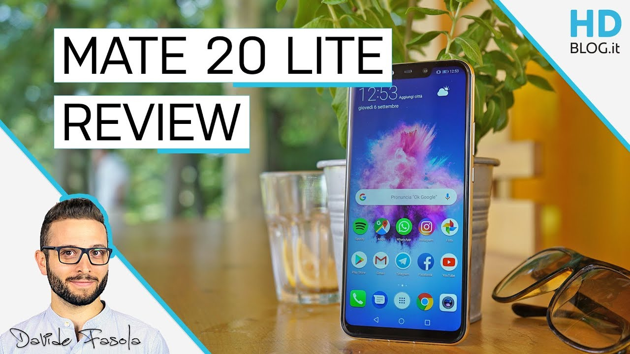 RECENSIONE   Huawei Mate 20 Lite: una valida alternativa ai