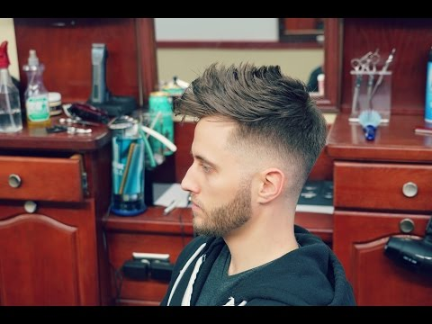How to Do a Fohawk with a Fade