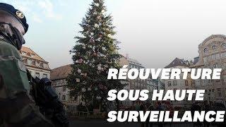 Le marché de Noël de Strasbourg rouvre sous très haute surveillance