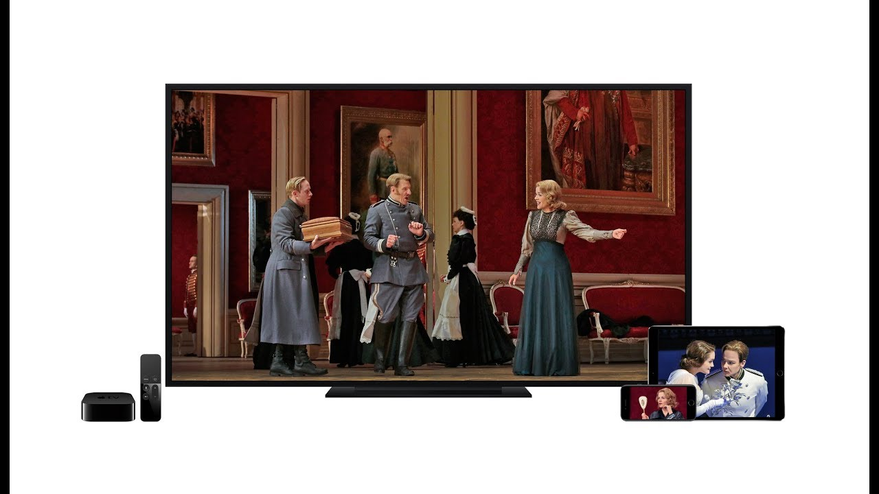 Met Opera on Demand: New apps for Apple TV and iPhone now available