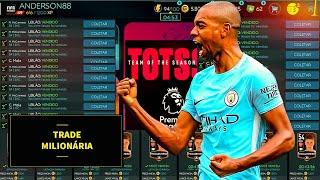 FIFA MOBILE 2020 - TRADE MILIONÁRIA DA PREMIER LEAGUE (JOGADORES BRONZE)