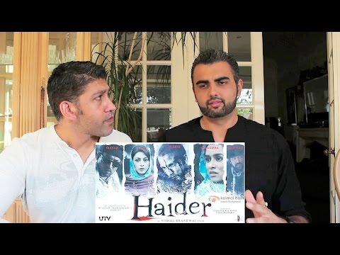 Haider Trailer Reaction-Review! | (Shahid Kapoor, Tabu, Shraddha Kapoor)