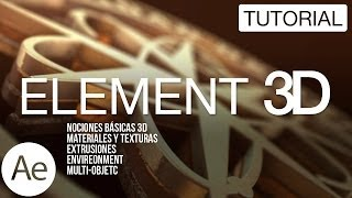 Element 3D Tutorial After Effects