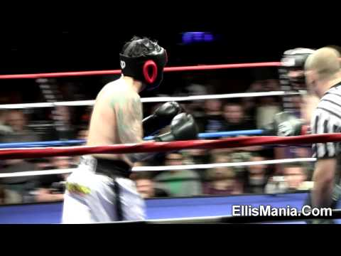 Benji Madden Good Charlotte vs. Riki Rachtman: Ellis Mania 5 boxing fight