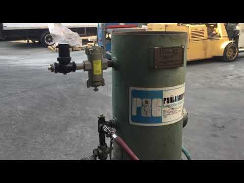 Pauli & Griffin Co. 16WB 300 lbs Sand Abrasive Blasting Blast Blaster Pot