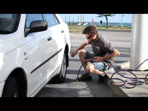 How to check your tyre pressure and tread wear