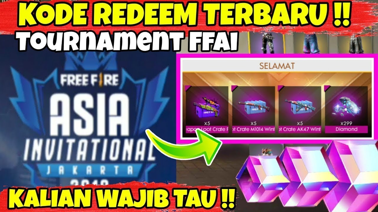 WATCH THE VIDEO BEFORE HUNTING REDEEM CODE ON FFAI - GARENA FREE FIRE