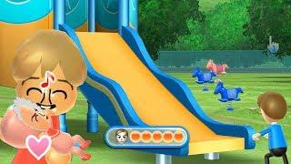 Wii Party   Minigames Player vs Megan vs Helen vs Maria