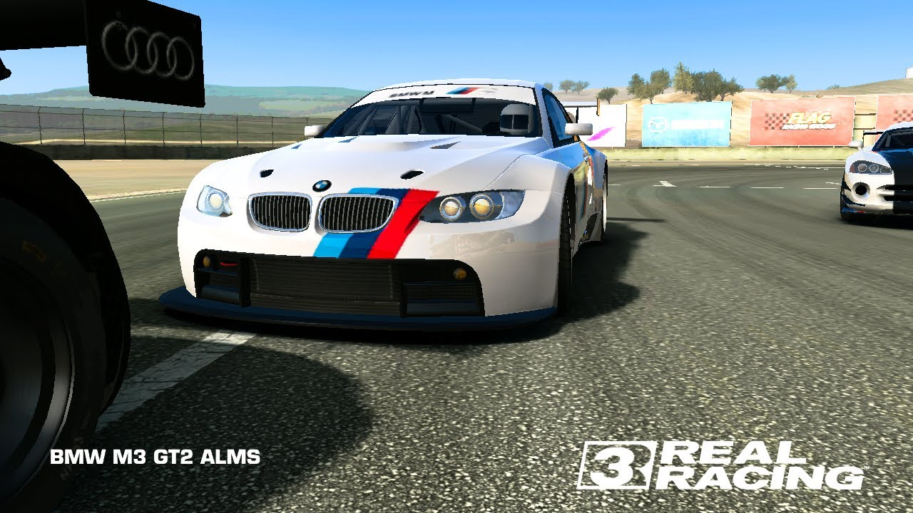 real racing 3 � bmw m3 gt2 alms topspeed 301 kmh