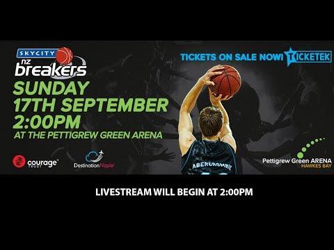 SKYCITY Breakers vs. Melbourne United - 17th September 2017 - Pettigrew Green Arena Hawke's Bay