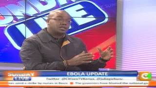 Sunday Live Interview Update on Ebola with Director for Medical Services