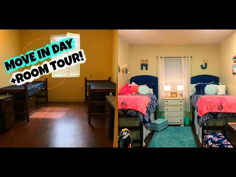USM MOVE-IN DAY 2017 + CPS SCOTT HALL DORM TOUR!!!