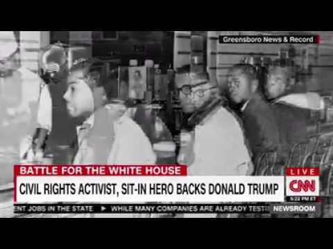 Civil Rights Leader Clarence Hendrickson Endorses Donald Trump! Black Panthers Support Trump!