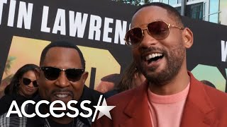 Will Smith Has 'Magic Energy' With 'Bad Boys' Co-Star Martin Lawrence: 'We Just Click'