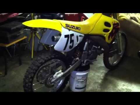1993 Suzuki 125 2-stroke won't start
