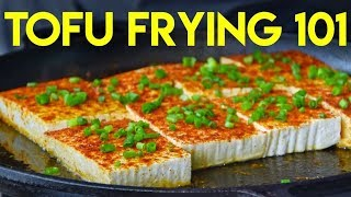 Three Chinese Tofu Frying Techniques