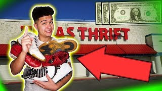SECRET TO GETTING ANY SNEAKER FOR $1 (THRIFT CHALLENGE)