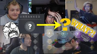 Streamers REACT to geтting RANKED! Comptitive mode! Valorant Best Plays and Funny Moments! #17