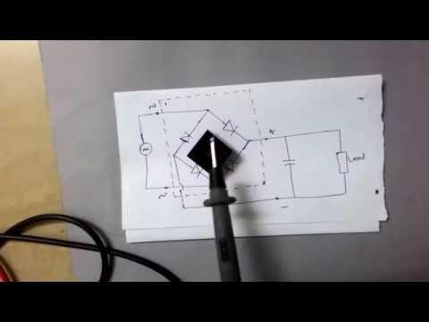 bridge rectifier ic basics, pin identification, circuit diagram
