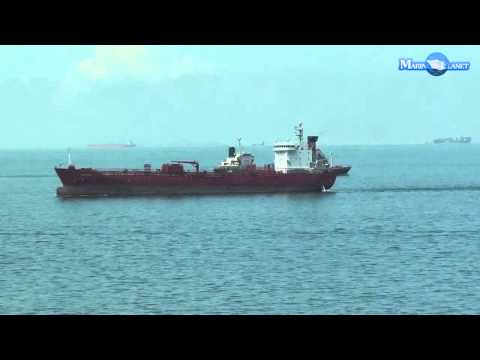 MERCHANT NAVY ORIENTAL SWAN OIL CHEMICAL TANKER SHIP