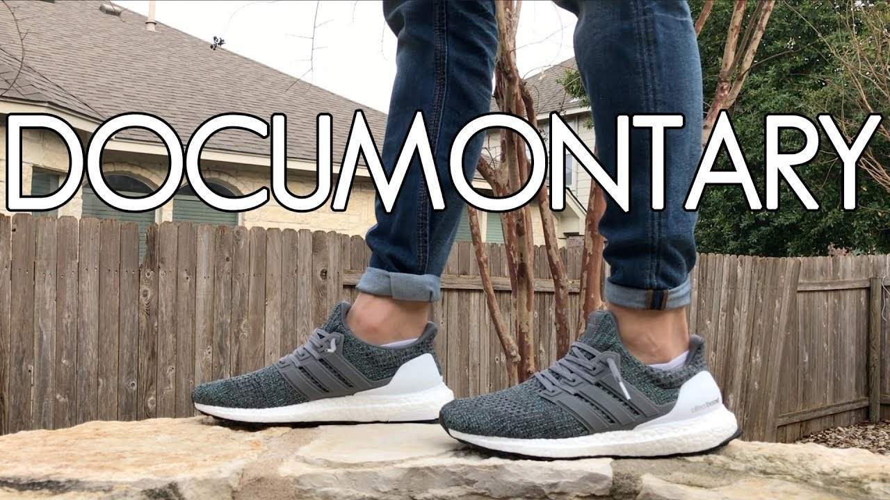 1050f4f55ce adidas Ultra BOOST 4.0 Grey Four Review   On-Feet