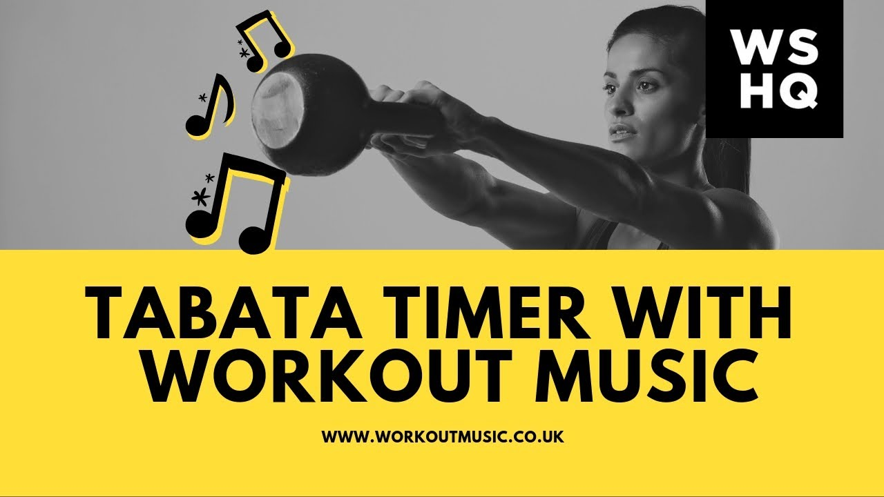 Free Tabata Timer With Rave Workout Music | HIIT