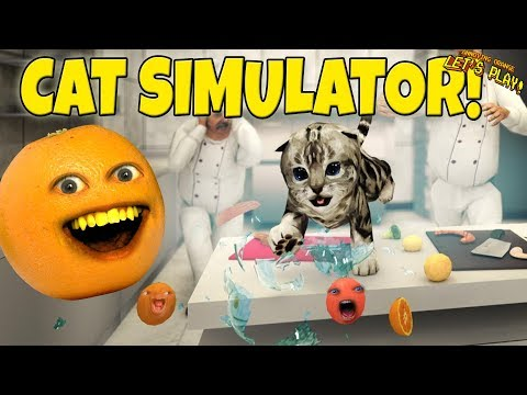 Cat Simulator 2017: The PURRfect game! [Annoying Orange Plays]
