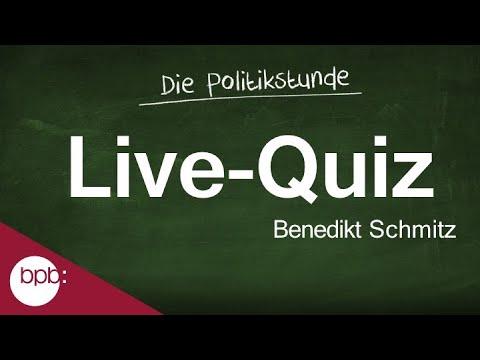 Die 12. Politikstunde: Das Große Politikquiz Mit Benedikt Schmitz