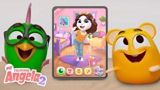 Tom's Pets Play MY TALKING ANGELA 2! ✨ NEW GAME TRAILER 🎮 screenshot 3