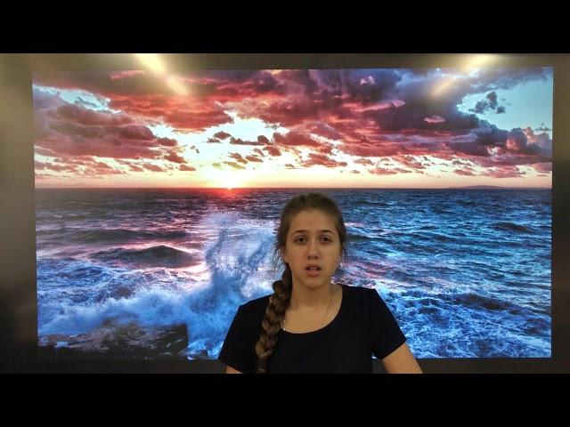 Изображение предпросмотра прочтения – МарияЗубкова читает произведение «Ты помнишь? В нашей бухте сонной...» А.А.Блока
