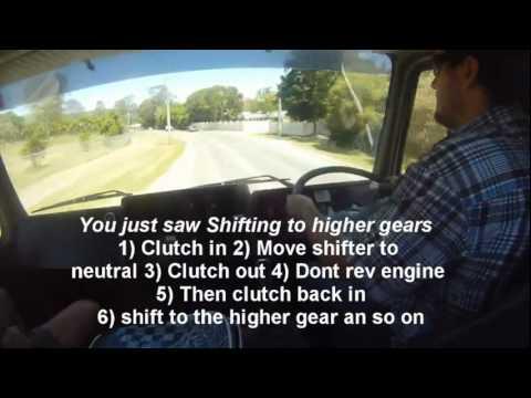 Driving an Eaton Road Ranger Crashbox