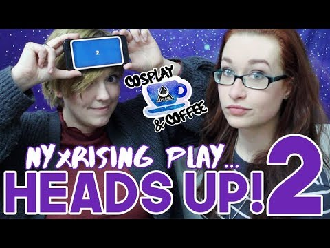 """Cosplay & Coffee: NyxRising Play... """"Heads Up!"""" Part Two"""