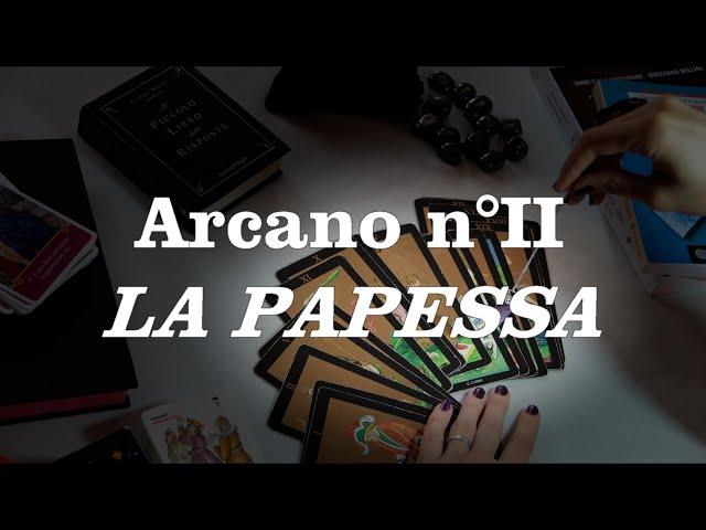 Tutorial sui tarocchi - La papessa n°II