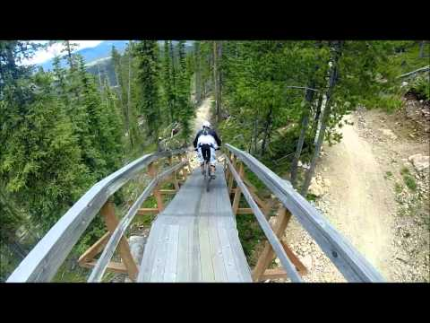 WINTER PARK, COLORADO - TRESTLE DOWNHILL MOUNTAIN BIKING TRIP 2014 HD