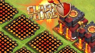 Clash of Clans - INVISIBLE BUILDING GLITCH! STRANGE VILLIAGE EDIT GLITCH! NEW TOWN HALL BUG/HACK?