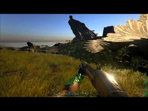 Small Dragon + Sabertooth Taming! Ark Survival Evolved Episode 15
