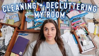 deep cleaning + decluttering my room !!  *satisfying*