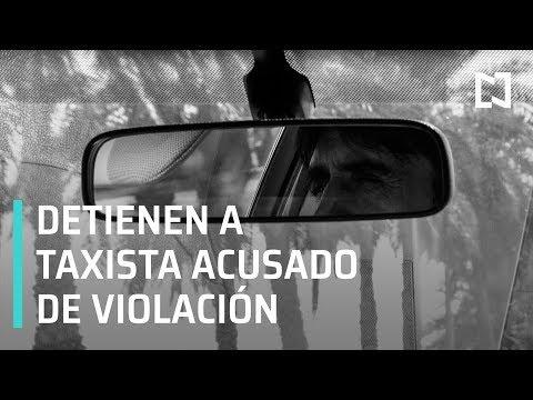 Detienen a taxista violador