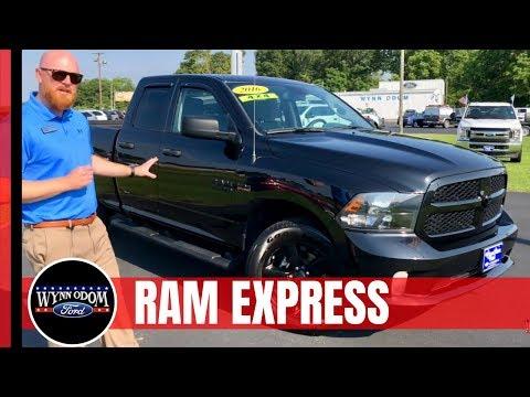 🔥 2016 Ram 1500 Black Express Group | Wynn Odom Ford