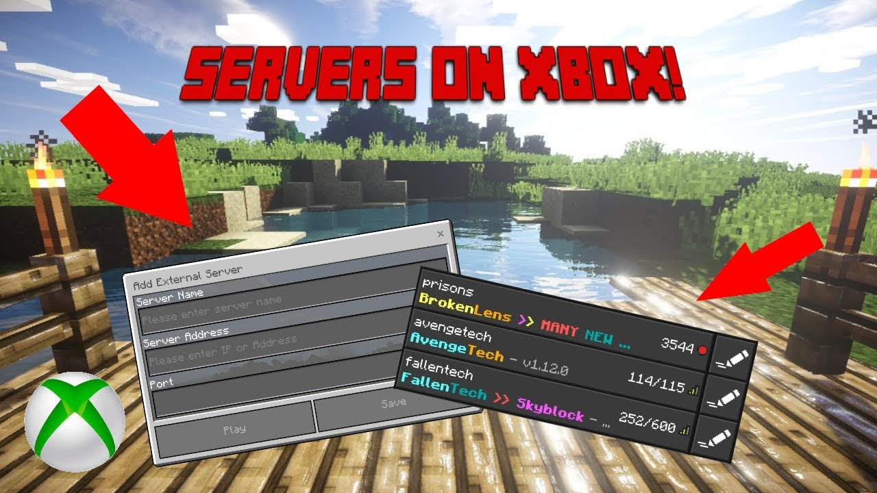 How to Join Servers on Xbox  Minecraft Tutorial