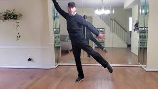 Part-1 How to dance Michael Jackson's Thriller Dance routine step-by-step/taught by Terry Chasteen