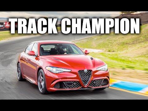 Alfa Romeo Giulia Reigns King! Huge Track Car Comparison