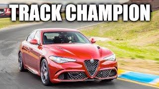 alfa romeo giulia reigns king huge track car comparison