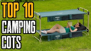 Top 10 Best Portable Camping Cot & Bed 2020